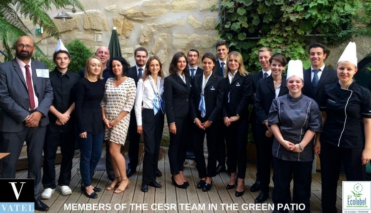 Vatel Bordeaux Corporate Educative Social responsability