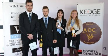 Vatel Bordeaux hosted the L'Étiquette - Blind Tasting Inter-School Wine Tasting Challenge