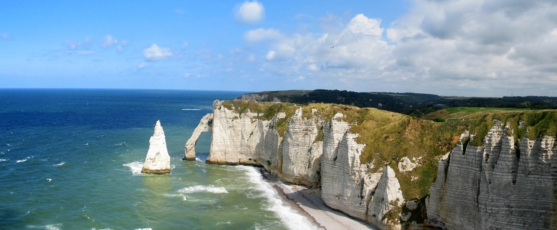 The cliffs of etretat